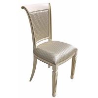 CTIFS04  НИКЕ АВОРИО S/сопрано ком крем стул с накладным сиденьем и мягкой спинкой