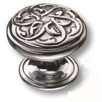 07120-055 Ручка кнопка латунь современная классика, глянцевый хром