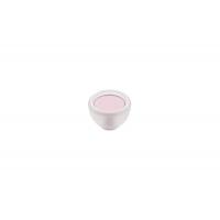 10.816.B94-77 Ручка-кнопка, отделка транспарент матовый + розовый