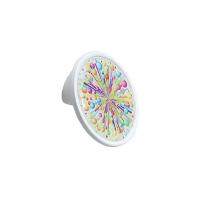 10.823.B70-111 (Ex 10.823.0032.7 Ручка-кнопка 32мм, отделка белый матовый + вставка