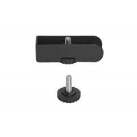 Комплект ножек для ДСП25мм, отделка чёрная (4шт.)