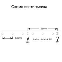 Cветодиодный светильник-лента NLS 250 теплый свет