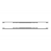 Комплект защитных накладок для корпуса под духовой шкаф ДСП18 мм, отделка серый металлик