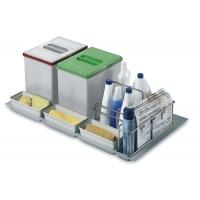 абор емкостей в базу 900 для бытовой химии и раздельного сбора мусора