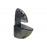 T009 Пеликан прозрачный большой, чёрный Комплект-2.штуки