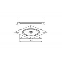 Поворотный механизм стола, нагрузка 100кг