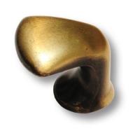 1333.0025.001 Ручка кнопка морская коллекция, античная бронза