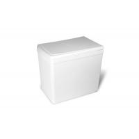 Ведро для мусора (16л), пластик   белый
