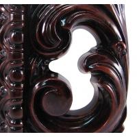 Зеркало ПУ прямоугольное R0037SF  870x1030 натуральный цвет, Венеция (эмаль)
