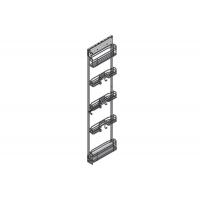 Колонна в базу 150 выдвижная для хозяйственного инвентаря, отделка хром
