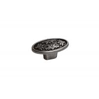 24177Z05800.25 Ручка-кнопка, отделка серебро старое