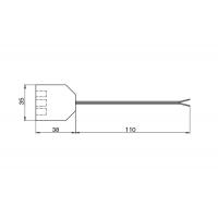 Блок распределительный L806-PC на 3 подключения, с проводом 200 мм