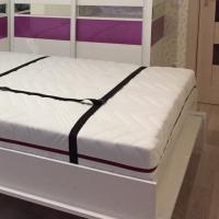 Ремни для фиксации матраса на ортопедическом основании в конструкции шкаф-кровать или подъемная кровать
