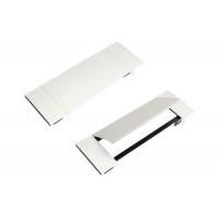 Крышка Power Frame Cover для блока на 3 модуля, отделка алюминий/чёрный