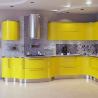 RAL 1018 краска для фасадов МДФ цинково-желтая