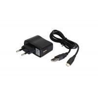 Блок питания ЗУ-5, 110-240V/5V, с кабелем 1000 мм (USB/microUSB)