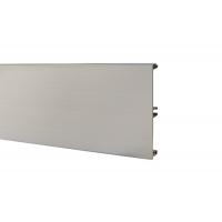 Цоколь алюминиевый H.150, L=4000, сталь нержавеющая полированная