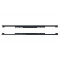 Комплект защитных накладок для корпуса под духовой шкаф ДСП18 мм, отделка черная
