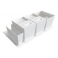 Система хранения в базу 900 (2 ведра + 2 контейнера), отделка орион белый