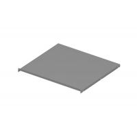 Защитный экран под варочную панель, для тумбы шириной 600мм из 16ДСП, отделка серый металлик