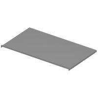 Защитный экран под варочную панель, для тумбы шириной 900мм из 16ДСП, отделка серый металлик