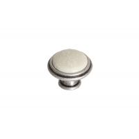 P88.Y01.G4.ME8G Ручка-кпопка, отделка старое серебро с блеском + керамика