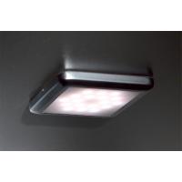 Комплект из 3-х светильников LED Square, 5000K, отделка серебро матовое