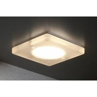 Комплект из 3-х светильников LED Quadro, 4500K, отделка акрил матовый