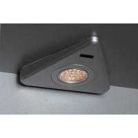 Комплект из 3-х светильников LED Triangolo-IR иTriangolo, 5000K, отделка под алюминий