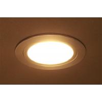 Комплект из 3-х врезных/накладных светильников LED Luna 1, 3200K, отделка алюминий