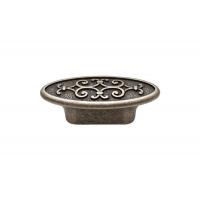 24134Z07300.25 Ручка-кнопка, отделка серебро старое