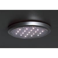 Комплект из 3-х светильников LED Round, 5000K, отделка серебро матовое