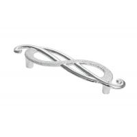 EA036Z096D0.69 Ручка-скоба 96мм (правая), отделка серебро лунное