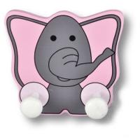 944EL Вешалка деревянная в виде слоника