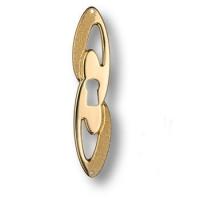 15.698.10.DIA.19 Ключевина декоративная, глянцевое золото 24K
