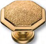 15.309.01 DIA 19 Ручка кнопка классика эксклюзивная коллекция, глянцевое золото 24K