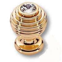 15.030 SWA 19 Ручка кнопка эксклюзивная коллекция, глянцевое золото 24K