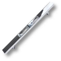 7206.0192.026 Ручка скоба с кристаллами Swarovski эксклюзивная коллекция, глянцевый хром 192 мм