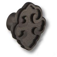 VALENTINA/PS-B Ручка кнопка, цвет покрытия- черный матовый