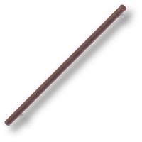7524.0544.021.176 Ручка рейлинг эксклюзивная коллекция, коричневая кожа 544 мм