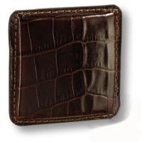 1003.0070.177 Ручка кнопка эксклюзивная коллекция, рисунок кожи крокодила