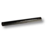 7524.0128.021.081 Ручка рейлинг эксклюзивная коллекция, черная глянцевая кожа 128 мм