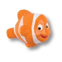 711R1 Ручка кнопка детская, рыбка оранжевая