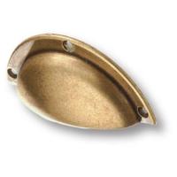 4800-22 Ручка раковина классика, старая бронза