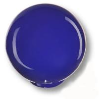626AZ1 Ручка кнопка детская коллекция , выполнена в форме шара, цвет синий глянцевый
