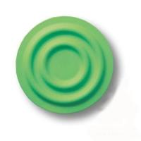 440025ST06 Ручка кнопка детская, круг зеленый
