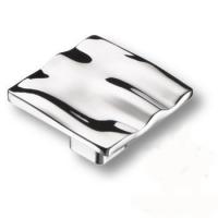 465025MP02 Ручка кнопка квадратная модерн, глянцевый хром