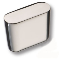 8171-400 Ручка кнопка модерн, глянцевый хром