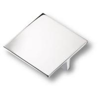 843064MP02 Ручка кнопка квадратная модерн, глянцевый хром 64 мм