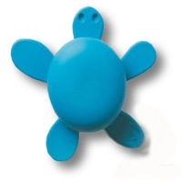 456025ST05 Ручка кнопка детская, черепаха синяя